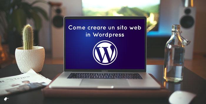 Come creare un sito web in WordPress